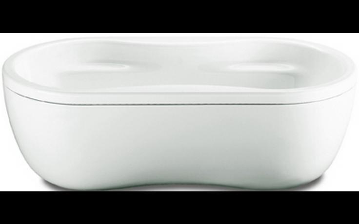 KALDEWEI MEGA DUO OVAL 184 vana 1800x900x450mm, ocelová, oválná, bílá