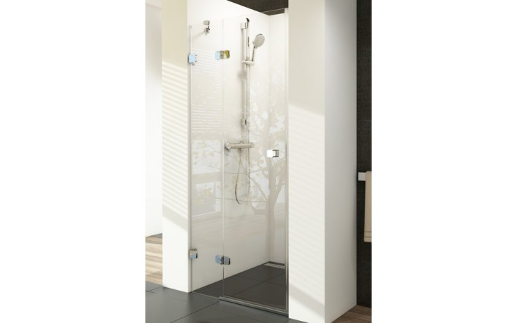 Zástěna sprchová dveře Ravak sklo Brilliant BSD2 1000x1950mm chrom/transparent
