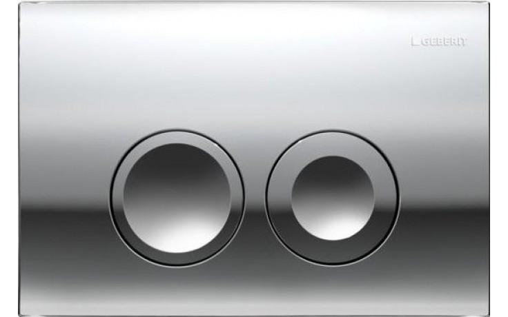 GEBERIT DELTA 21 ovládací tlačítko 24,6x16,4cm, chrom lesk 115.125.21.1