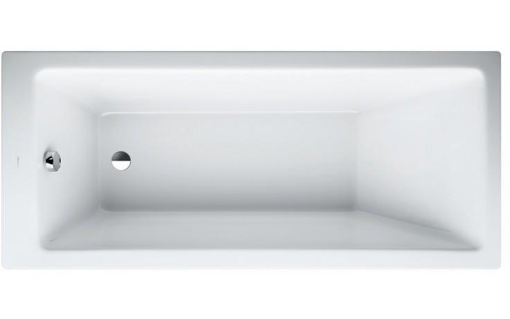 LAUFEN PRO vestavná vana 1600x700mm akrylátová, bílá 2.3395.0.000.000.1