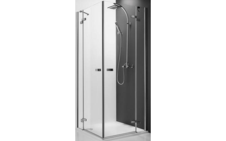 ROLTECHNIK ELEGANT LINE GDOL1/900 sprchové dveře 900x2000mm levé jednokřídlé, bezrámové, brillant/transparent
