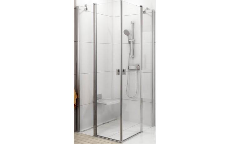Zástěna sprchová dveře Ravak sklo Chrome CRV2 1000x1950mm bílá/transparent