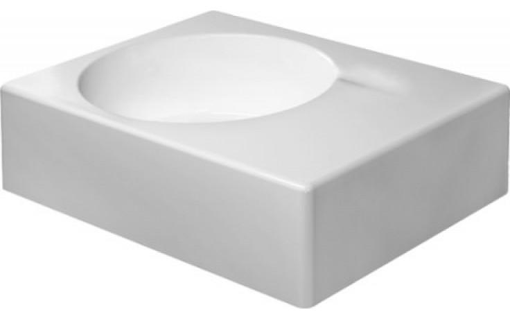 Umyvadlo klasické Duravit s otvorem Scola umyvadlo vlevo 61,5x46 cm bílá