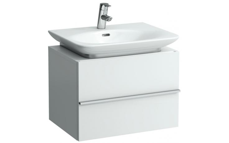 LAUFEN CASE skříňka pod umyvadlo 595x430x425mm se 2 zásuvkami, bílá lesk 4.0120.2.075.464.1