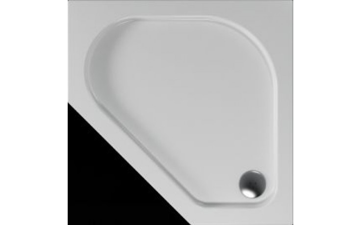 Vanička plastová Teiko pětiúhelník - 90x90x3,5cm bílá