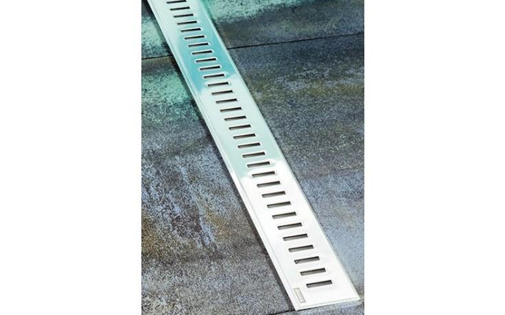 RAVAK ZEBRA 850 podlahový žlab 844x53x12mm s nerezovou mřížkou X01434