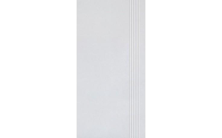 RAKO SANDSTONE PLUS schodovka 30x60cm šedá DCPSE271