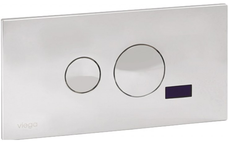 SANELA SLW05F splachovač WC, 24V DC, s elektronikou ALS , pro instalační systém Viega Eco Plus, tlačítko For Style 10