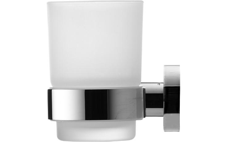 DURAVIT D-CODE držák na pohárek levý chrom 0099191000