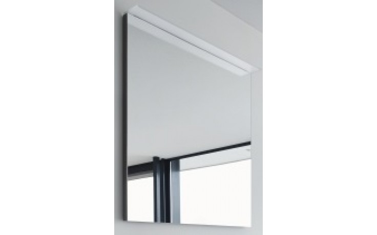 DURAVIT HAPPY D.2 zrcadlo 650x36/105mm s osvětlením, bílá vysoký lesk/bílá vysoký lesk H2729302222