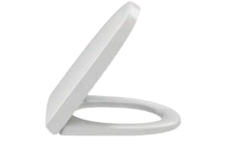Sedátko WC Kohler duraplastové s kov. panty Reach  bílá
