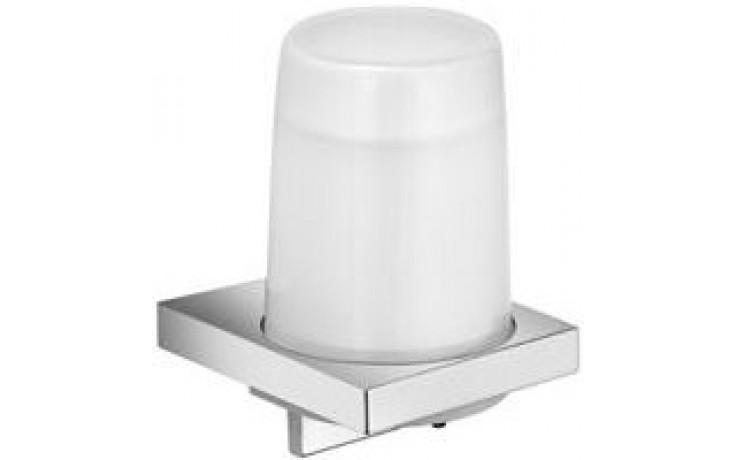 KEUCO EDITION 11 dávkovač 180ml tekutého mýdla, nástěnný, chrom/sklo