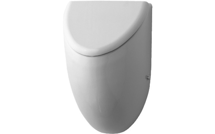 DURAVIT FIZZ urinal 305x285mm s muškou, bílá 0823350007
