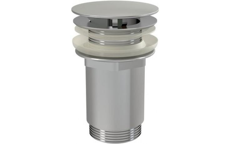 RAVAK umyvadlová pileta CLICK-CLACK průměr 62mm pevná, chrom X01439