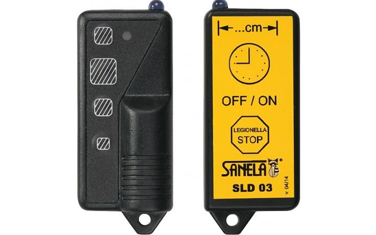 SANELA SLD03 dálkové ovládání 6V, pro nastavení parametrů infračervených čidel