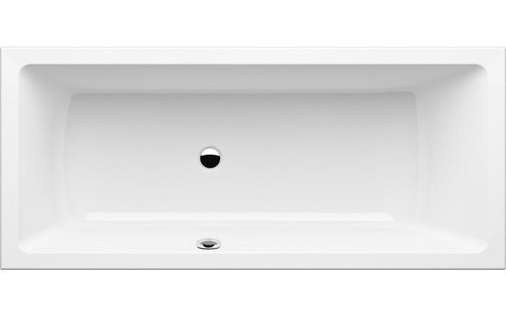 GKI MEMO klasická vana 1700x750mm s přepadem vlevo, akrylátová, bílá