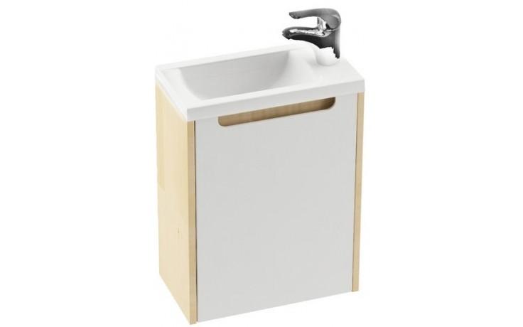 Nábytek skříňka pod umyvadlo Ravak SD Classic 400 40x22x50cm bílá/bílá