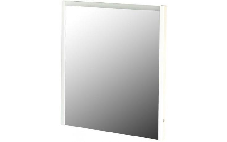 CONCEPT 600 zrcadlo 70x5x75cm, s LED osvětlením, hnědá