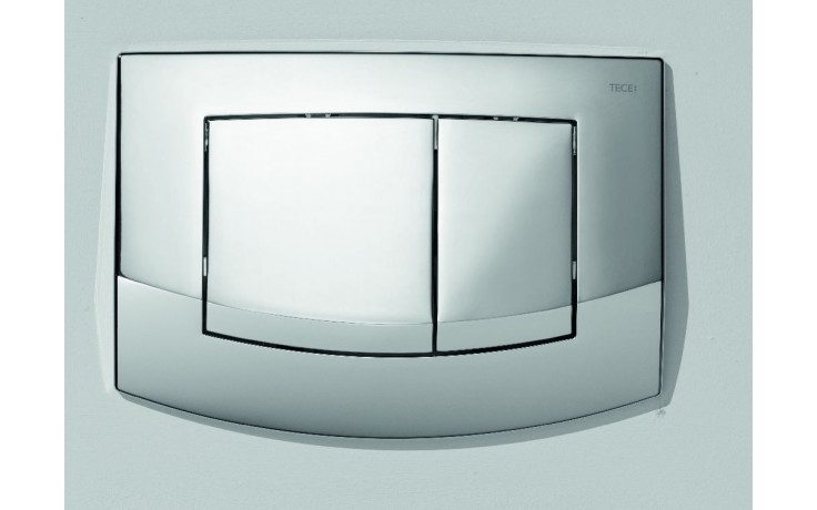 Předstěnové systémy ovládací desky TECE TECEambia dvojčinné  lesklý chrom