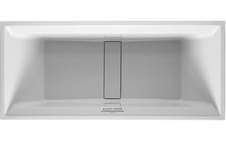 Vana plastová Duravit - 2nd floor 180x80 cm bílá