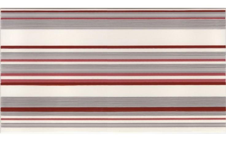 NAXOS CRYSTAL dekor 25x45cm, fascia easy rosso 68377