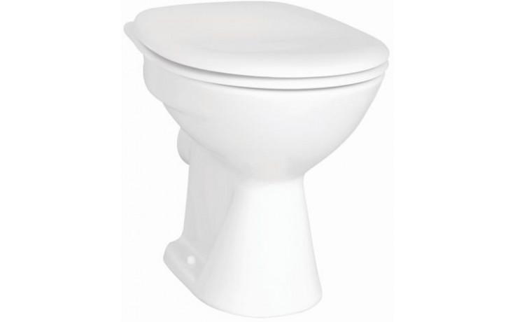 CONCEPT 100 WC mísa 355x475mm vodorovný odpad, hluboké splachování bílá alpin 5286L003-1125