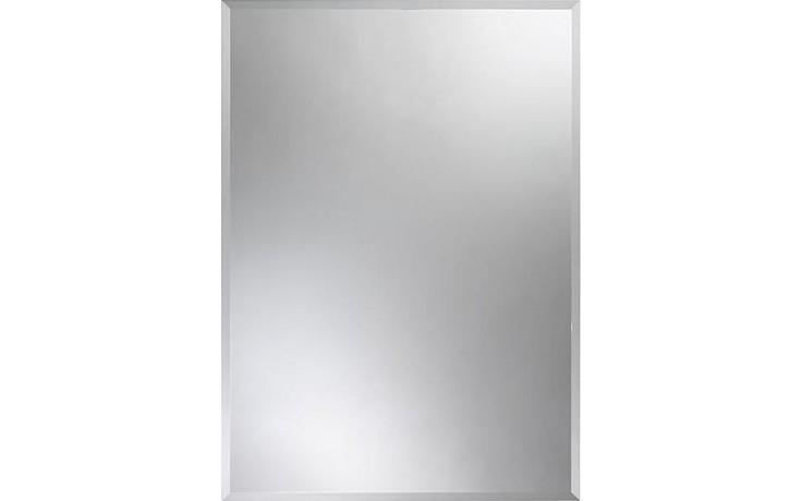 AMIRRO CRYSTAL zrcadlo 70x50cm jednoduché, s fazetou