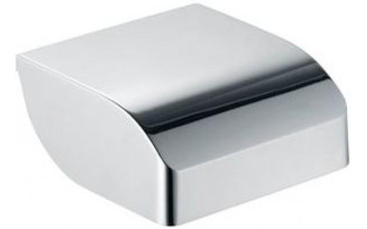 KEUCO ELEGANCE držák toaletního papíru 140x144mm s krytem, chrom