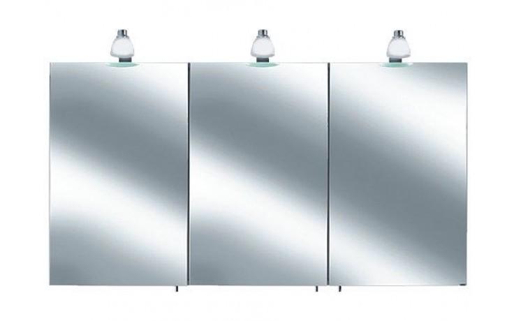Nábytek skříňka Keuco Royal 30 05604171301 (05604171311) zrcadlová stř.elox/bílá matná