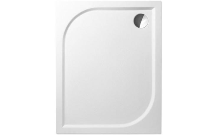 ROLTECHNIK RECTAN-M sprchová vanička 1000x800x30mm mramorová, obdélníková, bílá