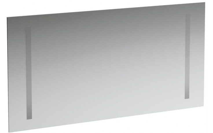 LAUFEN CASE zrcadlo 1200x48mm 2 zabudované osvětlení