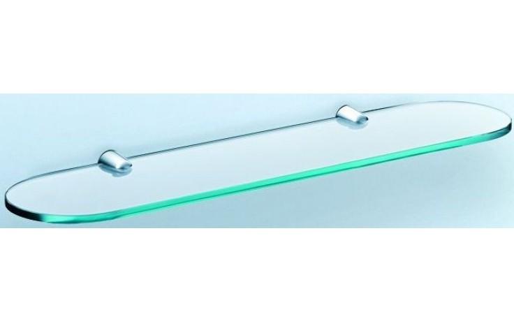 CONCEPT 200 polička 500x124x8mm sklo, chrom