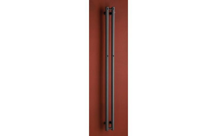 Radiátor koupelnový PMH Rosendal 115/1500 175 W (75/65C) metalická antracit 09/80170