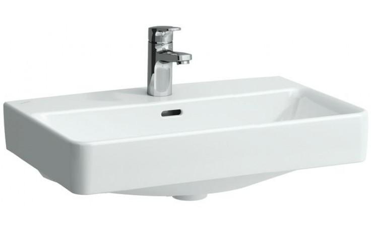 LAUFEN PRO S umyvadlo do nábytku 550x380mm bez otvoru, bez přepadu, bílá