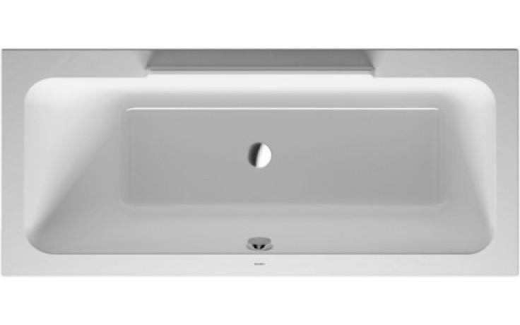 Vana plastová Duravit - Durastyle 170x75 cm bílá