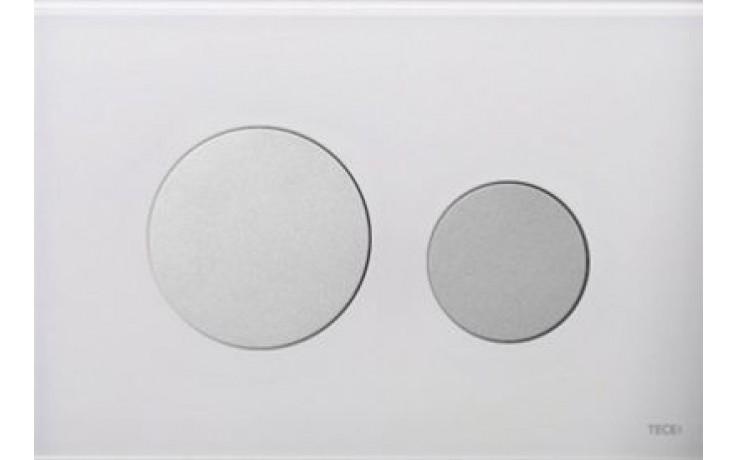 TECE LOOP ovládací tlačítko 220x150mm, dvoumnožstevní splachování, bílá/mat.chrom