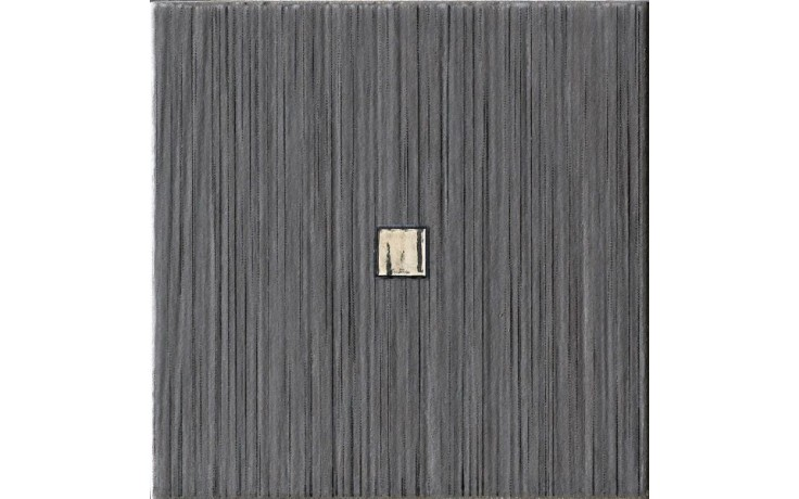 IMOLA BLOWN 10N1 dekor 10x10cm black
