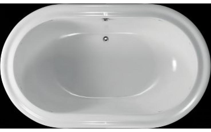Vana plastová Teiko tvarovaná Rhodos 195 195x115x46cm bílá