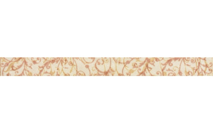 RAKO MANUFACTURA listela 40x3,5cm světle béžová WLAMH018