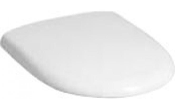 Sedátko WC Keramag duraplastové s kov. panty Renova Nr.1 s automatickým pozvolným sklápěním  bílá