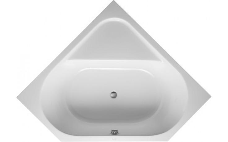 Vana plastová Duravit - D-Code 140x140 cm bílá
