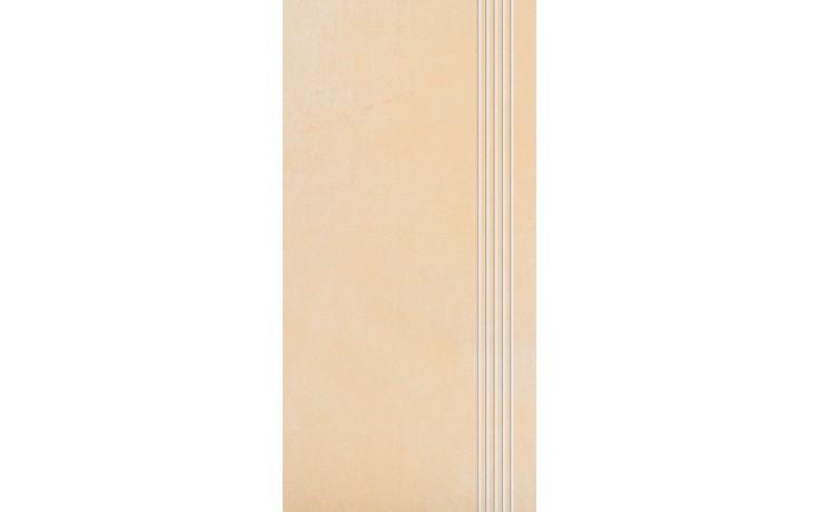Schodovka Rako keramická Sandstone Plus 29,5x59,5 cm okrová