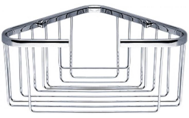 NIMCO OPEN polička rohová, drátěná 175x100x175mm chrom OP 106-26