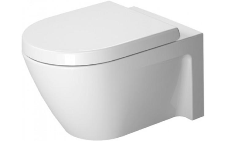 WC závěsné Duravit odpad vodorovný Starck 2 s hlub. splachovaním 37x54 cm bílá