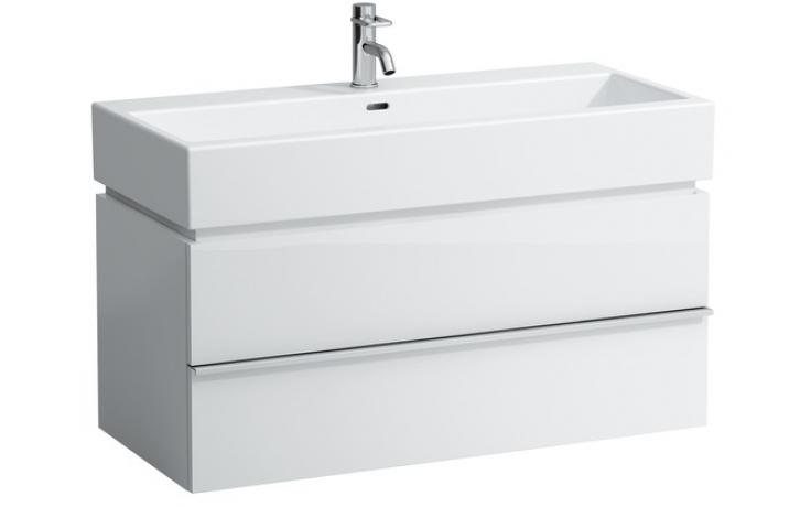 LAUFEN CASE skříňka pod umyvadlo 990x455x455mm se 2 zásuvkami, bílá 4.0128.2.075.463.1