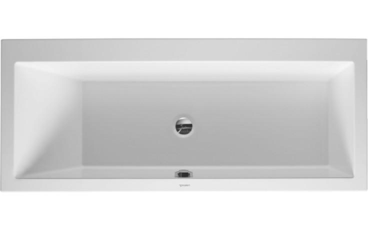 Vana plastová Duravit - Vero 170x75x46 cm bílá