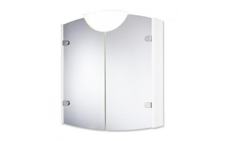 Nábytek zrcadlová skříňka Jokey Winner 63x71x15 cm bílá