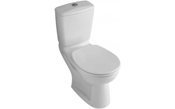 WC kombinované Villeroy & Boch odpad svislý O.novo pro mísa bez nádržky, hluboké splachování 355x710mm Bílá Alpin