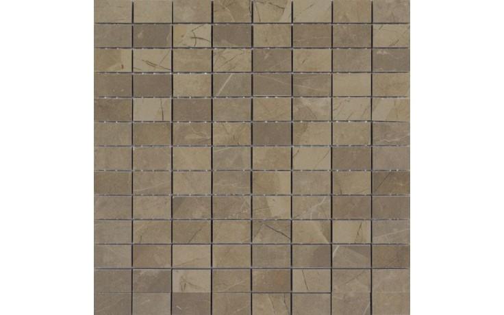 MARAZZI EVOLUTIONMARBLE mozaika, 30x30cm lepená na síťce, broznzo amani, MK0F