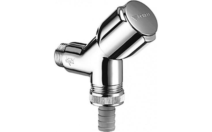 SCHELL COMFORT přístrojový ventil DN15, šikmý chrom 033860699
